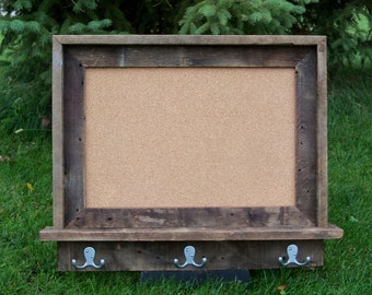 Custom Made Barnwood Framed Message Board