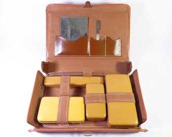 Mid Century Toiletry Travel Case - Travel Grooming Case