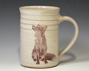 Young Fox Mug 12oz