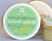 Lemon Verbena Sugar Scrub, Olive Oil Sugar Scrub, Stocking Stuffer