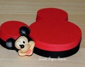 35 - 3 inch - Mickey Mouse Die Cuts (Banner, Decorations, Disney Wedding, Mickey Wedding, Minnie and Mickey, Mickey Baby Shower, Invitation)