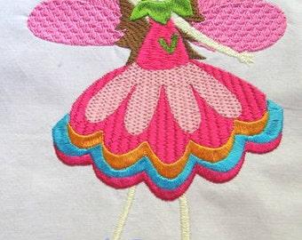 Garden Fairies 04 Machine Embroidery Design - 4x4, 5x7 & 6x8