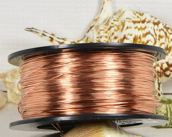 Copper Wire 21GA DS 5' Feet Jewelry Making Supplies Wire Findings Copper