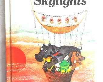 Basic Learn to Read Childrens Book Skylights Houghton Mifflin Reading Series Program Vintage 1981 Home School Classroom US Shipping Included