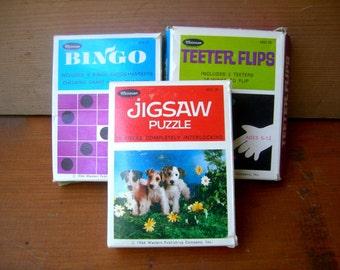 Vintage travel games children games toys puzzles