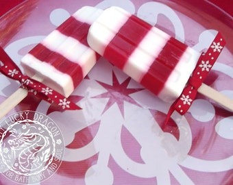 Candy Cane Soapsicle