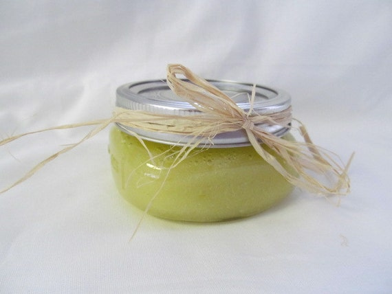ounce Lavender Vanilla Sugar or Salt Scrub by Lucary on Etsy