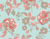 riley blake blue flower fabric