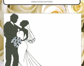WEDDING DAY cross stitch pattern