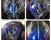 Brand New XL Fulmer Helmet Custom painted, and pinstriped