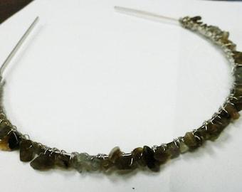 Labradorite Headband