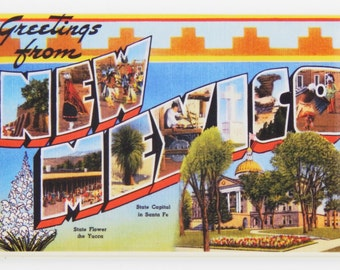 Greetings from New Mexico Fridge Magnet