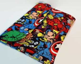 Marvel COMIC- iPad case made with Marvel Comic, iPad Air Cover, Kindle Fire HDX 8.9 Case, Nook HD Plus Case The Avengers