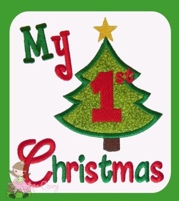 My first Christmas Applique design