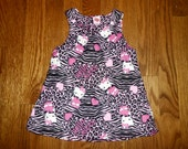 Hello Kitty Animal Baby A-Line Dress Sizes XS-L