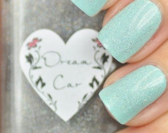Dream Car Silver Holographic Glitter Nail Polish 15ml (.5oz)