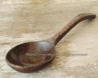 Palm Wood  Ladle Spoon