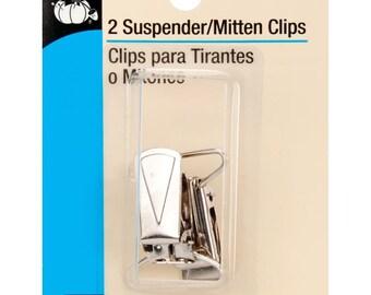 """Suspender/ Mitten Clips 1"""" 2/ Pkg, Dritz Sewing, Craft supply"""