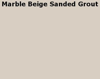 Mosaic Grout Marble Beige SANDED One Pound