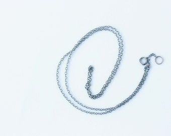 Standard Sterling Silver Necklace Cable Chain