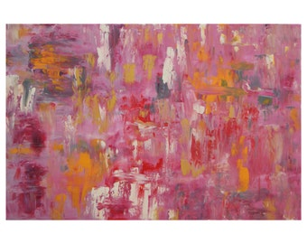 SALE Abstract 1142 Huge Large Original Fine Art Abstract Painting by Crystal Henson