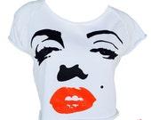 Marilyn Monroe cropped sweatshirt