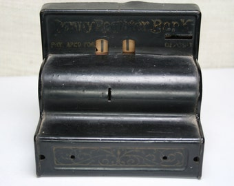 Vintage Penny Register Bank - Durable Toy Novelty Co