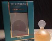 Je Reviens 7ml Worth edp miniature new flacon