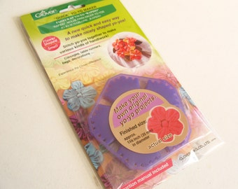 The bow Maker -for making ribbon and fabric bows- Small Flower Shape No. 8706