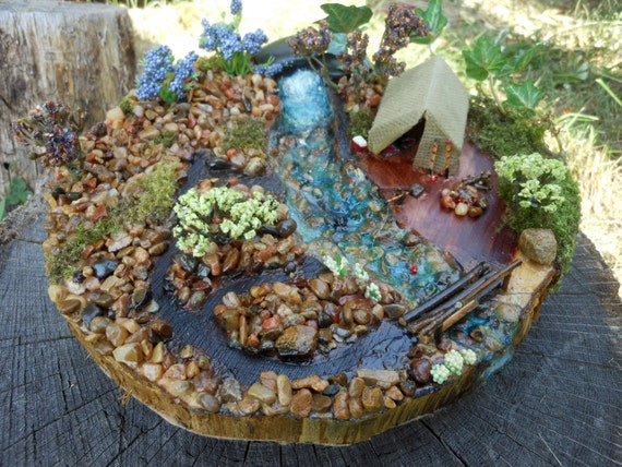 Fairy Garden Fantasy Camping By Hittsonhouse On Etsy
