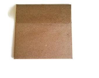 Mini Square Envelope 3'' x 3'' Set of 8