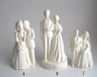 Totally Human Wedding Cake Topper