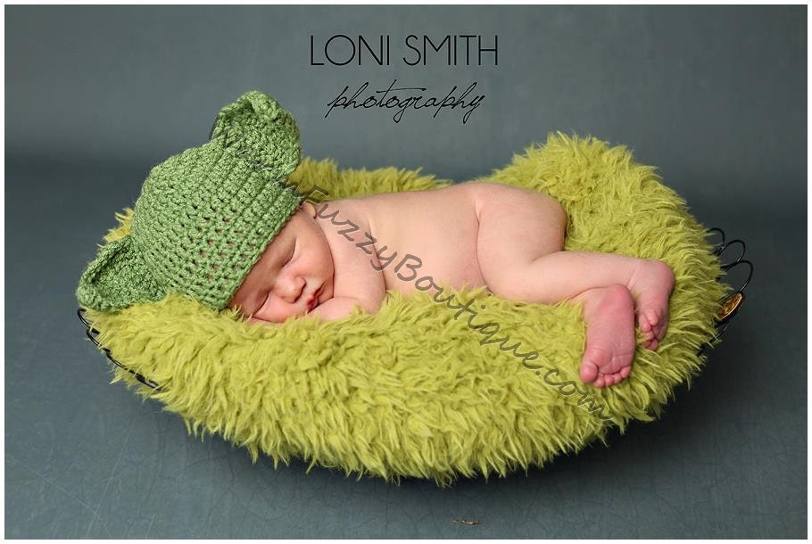 Star Wars Inspired Yoda Hat Baby Crochet by WarmFuzzyBoutique