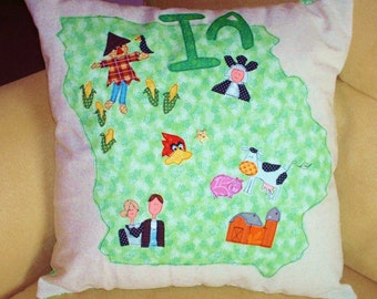 State Pillow - Iowa