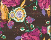 Art Gallery Fabric - Divine Gypsy Rosewood - Ruby Spirit Palette - Bijoux Collection-Choose Your Cut 1/2 Yard of Full Yard