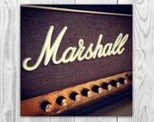 Marshall - Music Amp Rock and Roll Wall Art Photography Fine Art Print