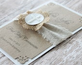 CUSTOM LISTING - Michelle 5 - First Communion Favor Cards