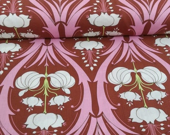 Passion Lily in Mulberry fabric by Amy Butler