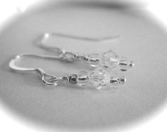 Rebecca Bridal Swarovski Earrings