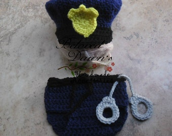 Newborn policeman Set Newborn Police Officer Set Policeman Set Police Officer Set Baby Police Props Newborn Police Officer Props