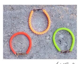 BOX and BARREL Bracelets - Plastic Lace Bracelets - Lanyard Bracelets