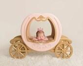 The Original - Princess Carriage Prop, Carriage Prop, Cinderella Prop, Newborn Photo Prop, Newborn Photography Prop