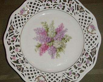 Schumann Arzberg Germany Lilac Plate