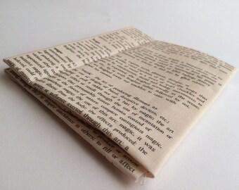 Dictionary Text Fabric Yardage