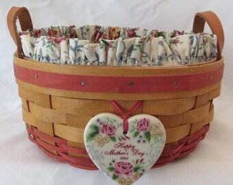 Longaberger 1995 Mother's Day Basket