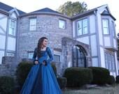 Elizabethan Renaissance Gown:  Ready to Ship