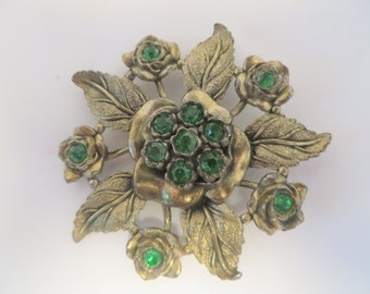 Large Vintage Flower Brooch LN 25 Little Nemo