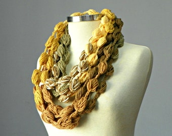 Crochet scarf, Infinity scarf, scarves, chunky scarf, cowl scarf, circle scarf, women accessory, chunky loop scarf