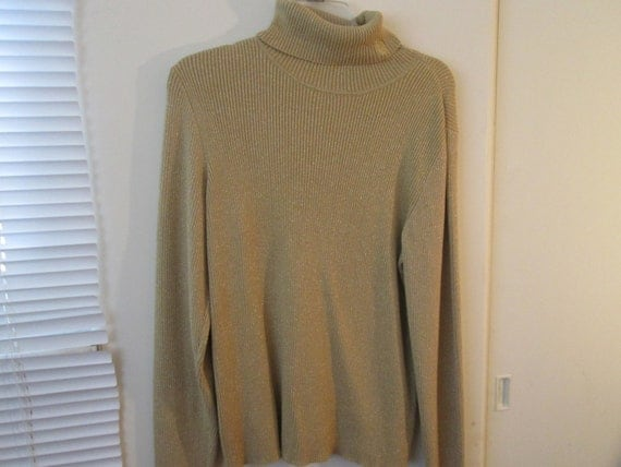 Gold Lame Sweater 28