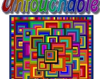 UNTOUCHABLE - Quilt-Addicts Patchwork Quilt Pattern
